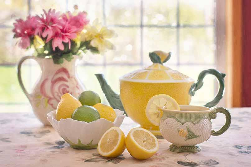Drink Lemon Tea, Stay Refreshed